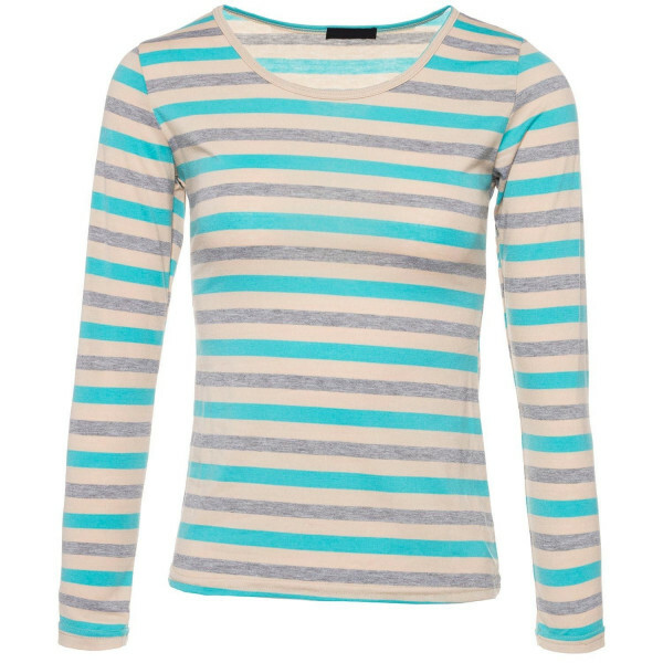LIGHT BLUE RAINBOW LONGSLEEVE