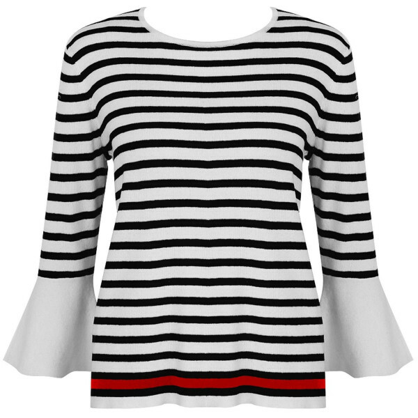 BLACK BRETON STRIPE SWEATER