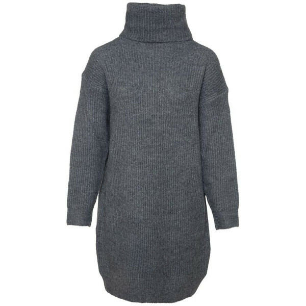 OVERSIZED SWEATERDRESS GREY