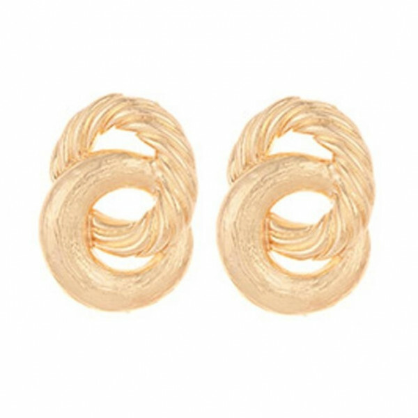 CHUNKY SWIRL EARRINGS