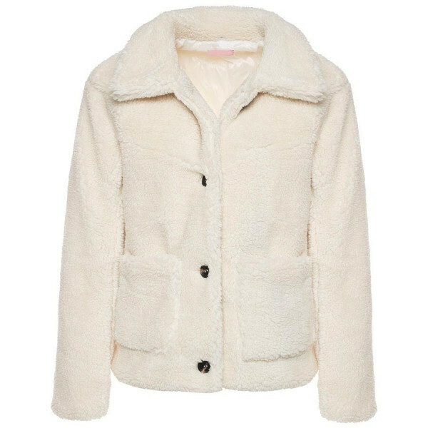 CUTEST TEDDY COAT BEIGE