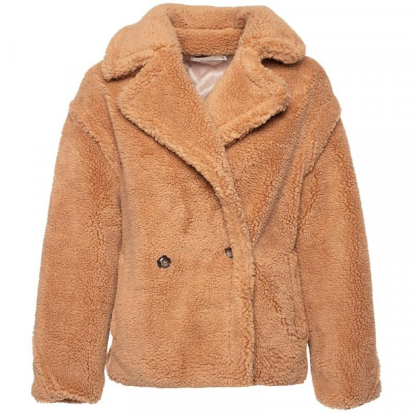 BIKER TEDDY COAT