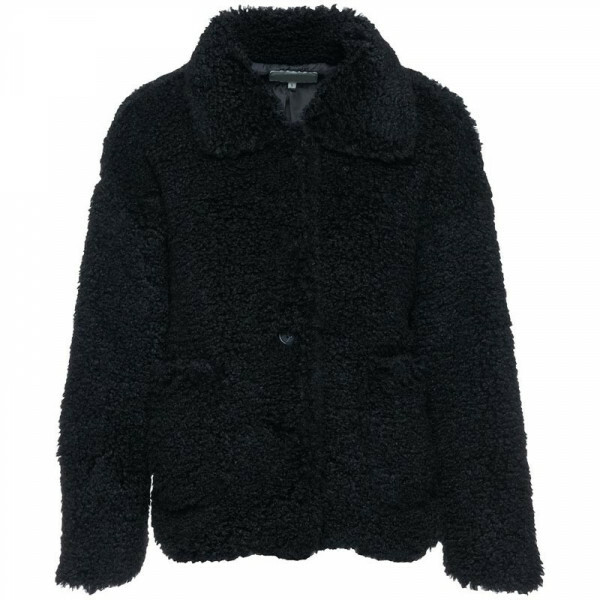 FAB TEDDY COAT BLACK