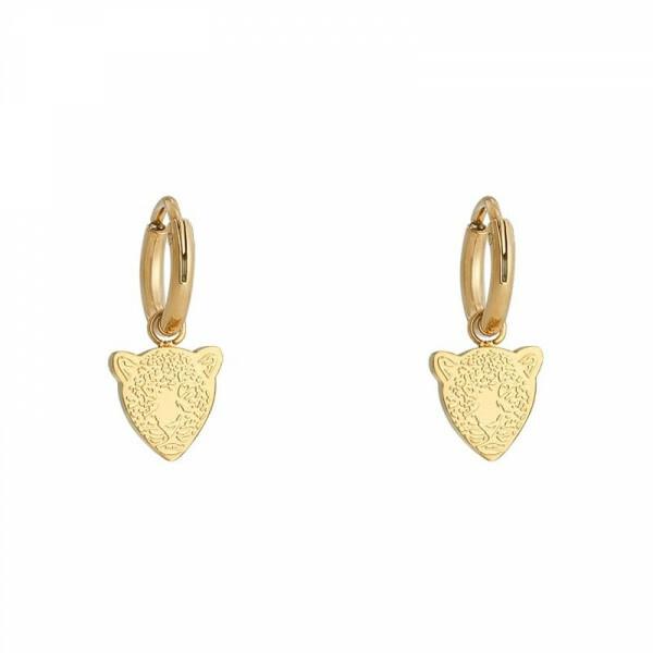 LEOPARD EARRING GOLD
