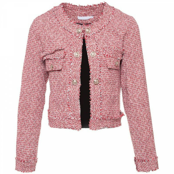 TWEED JACKET RED