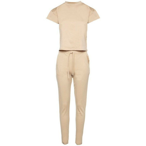 TWO PIECE SET BEIGE