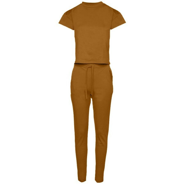TWO PIECE SET CAMEL