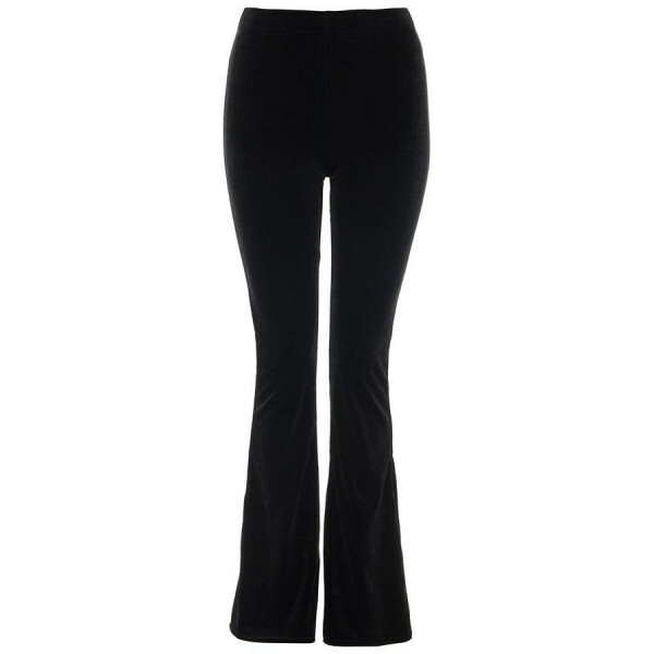 VELVET PERFECT FLARED PANTS