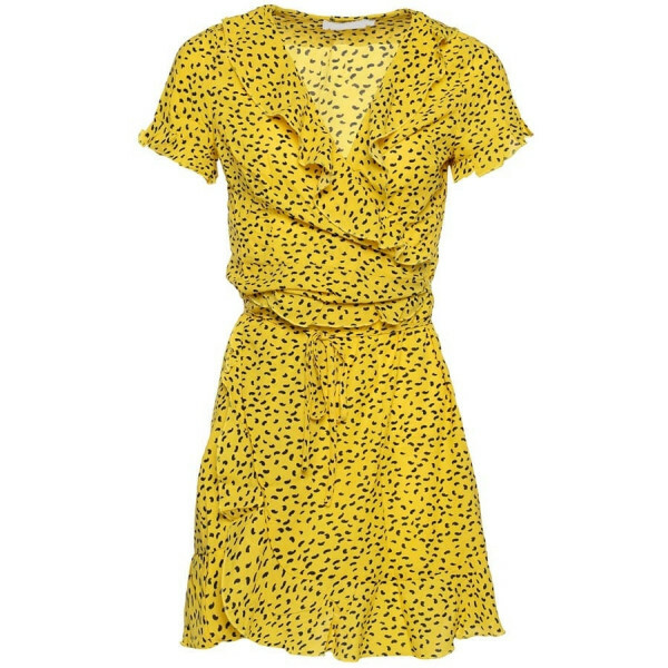 CUTEST DOT DRESS YELLOW