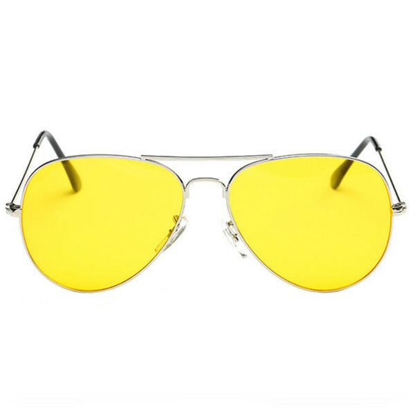 YELLOW RETRO SUNNIES SILVER