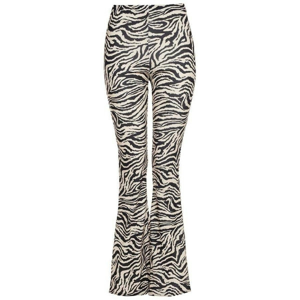 PERFECT FLARED PANTS ZEBRA