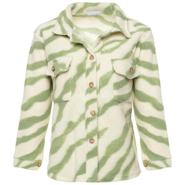 ZEBRA JACKET GREEN