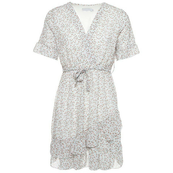 FLORAL SUMMER DRESS WHITE