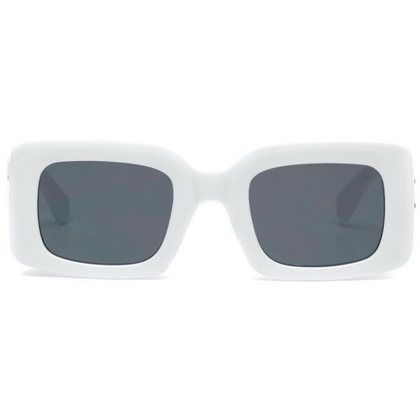 SQUARE GLAM SUNNIES WHITE
