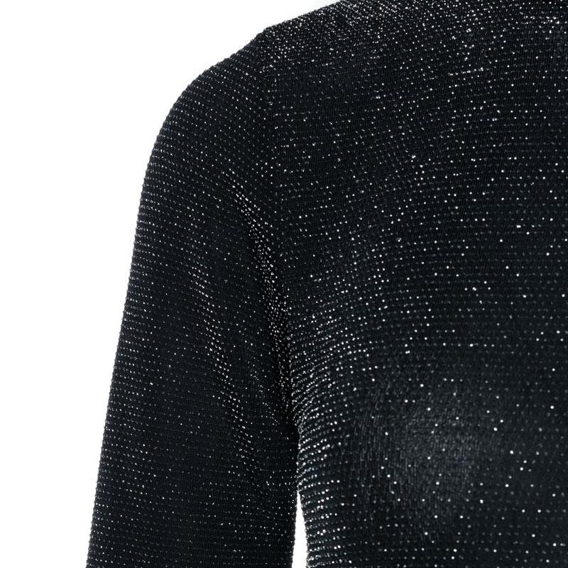 52ae39a8bbcdef Glitter jurk met open rug - Jurken - ComeGetFashion