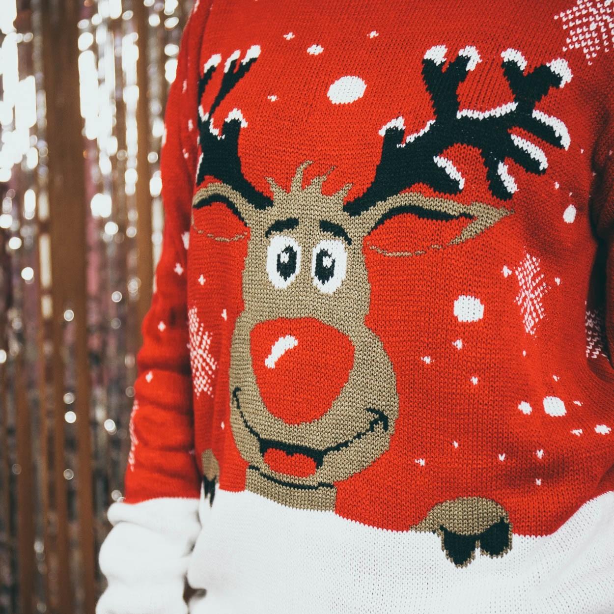 Kersttrui Vandaag Besteld Morgen In Huis.Kerst Trui Rudolph Sweaters Comegetfashion