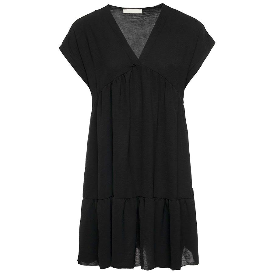 Een oversized zwart jurkje is een musthave item voor iedereen! perfect voor een dagje strand of warme ...
