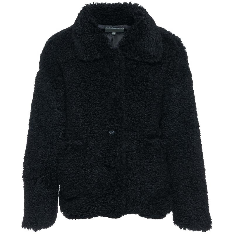 teddy jas zwart