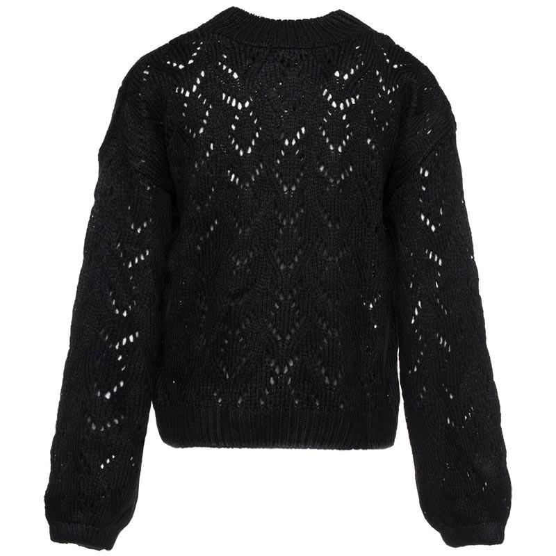 97f19ba4c98ac3 Trui gebreid zwart - Truien   Sweaters - ComeGetFashion