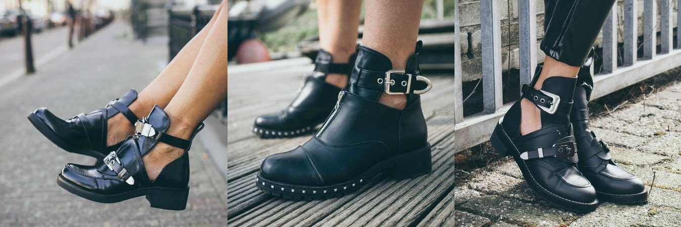 Cut out boots