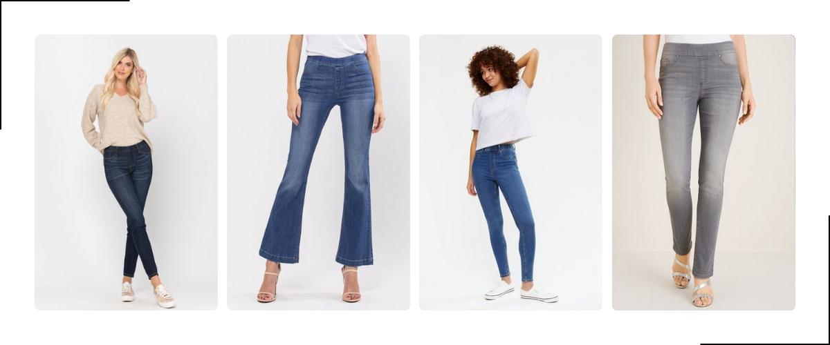 Tregging jeans voor dames