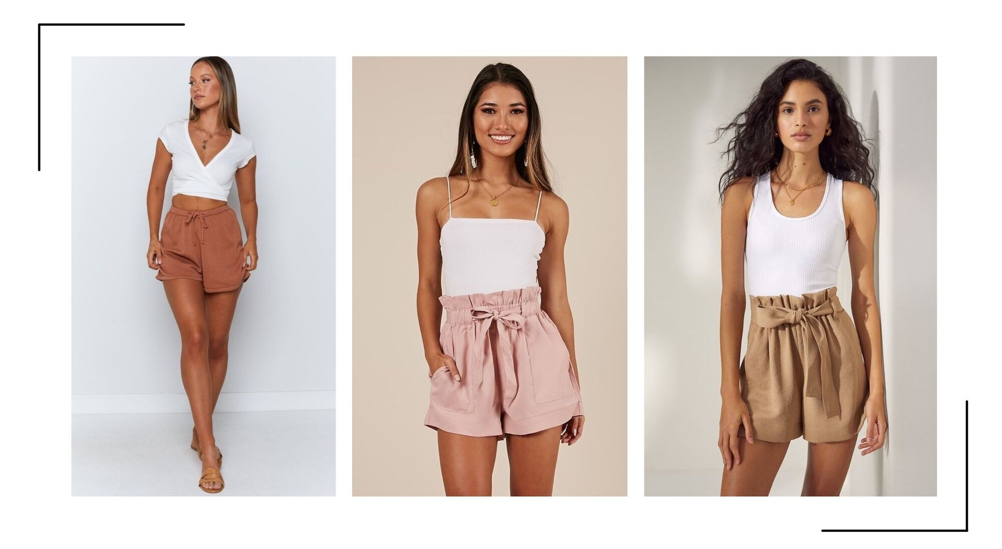 Hoge Taille Shorts